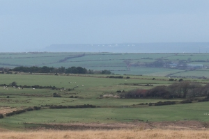 GCHQ Bude in the distance